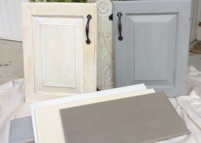 Cabinets can be styled in a color of your choice