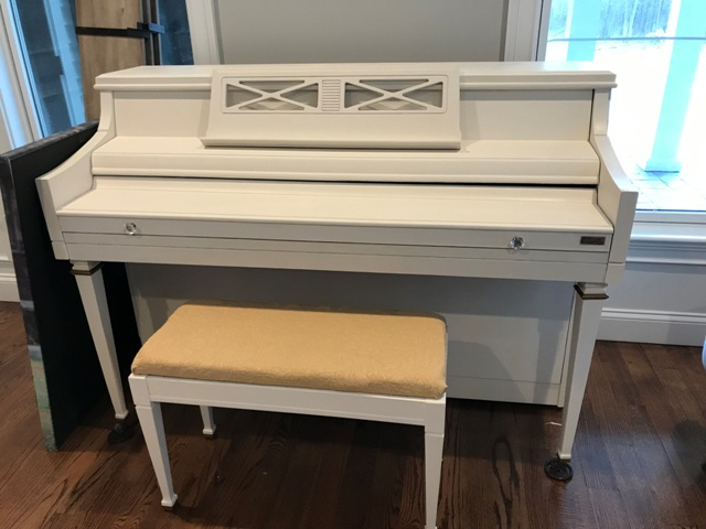 Refinished Piano and Bench