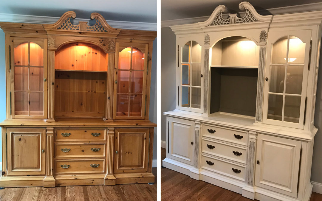 Restyled Dining Room Hutch