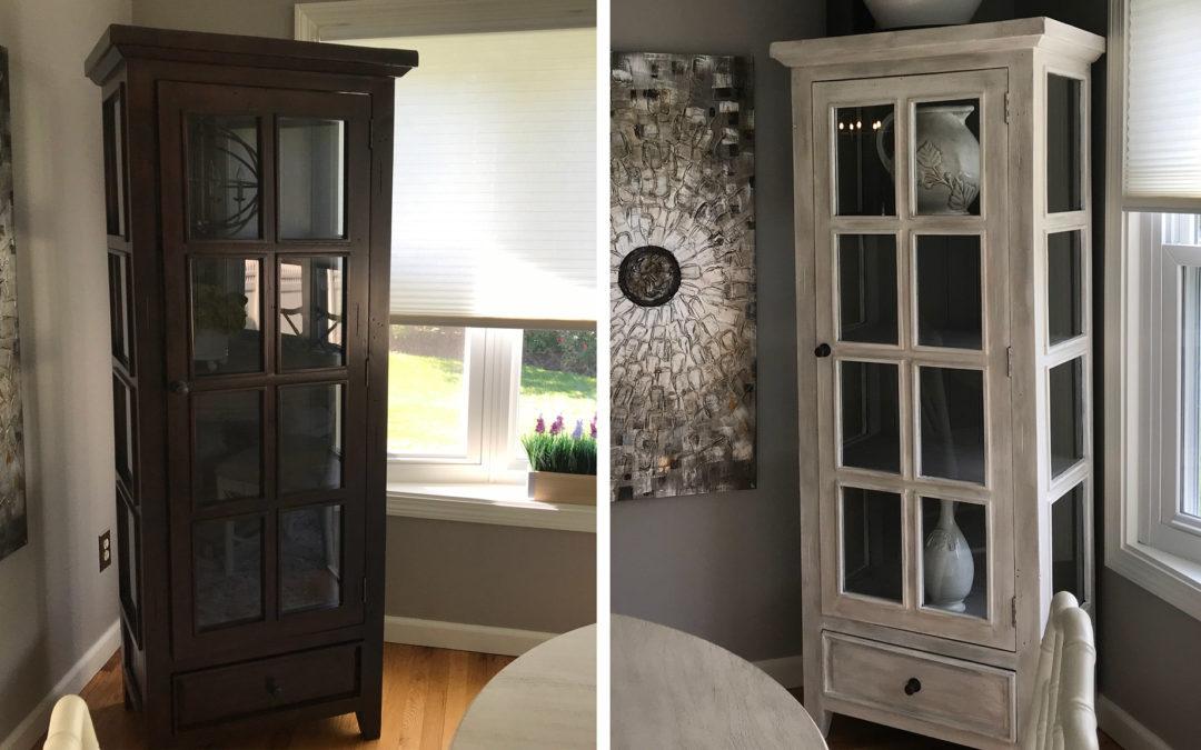 Fall Projects: Breakfast Nook Cabinet